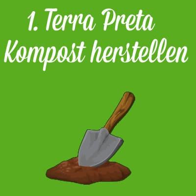 Terra Preta selbst herstellen - 1. Schritt